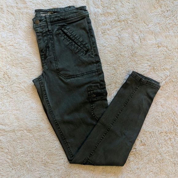 Mossimo Supply Co. Denim - Mossimo Mid-rise Cargo Jeggings